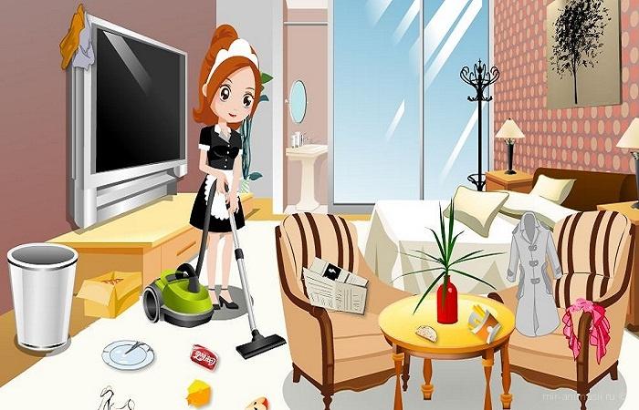День уборки в своей комнате - 10 мая