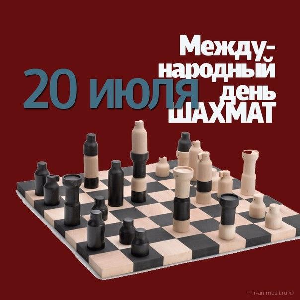 Международный день шахмат - 20 июля