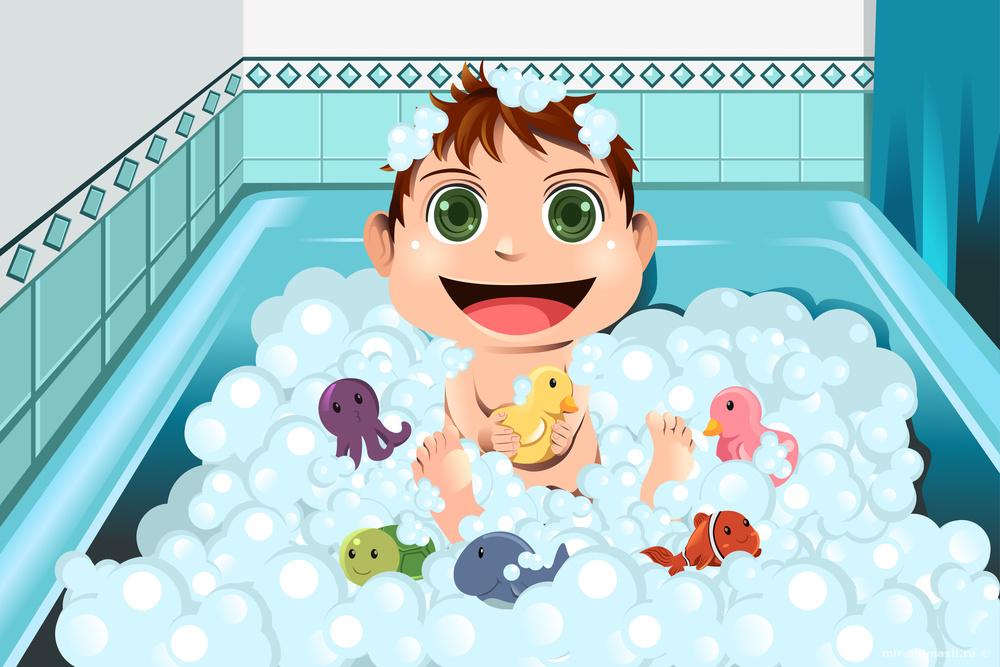 День ванны с мыльными пузырями - 8 января
