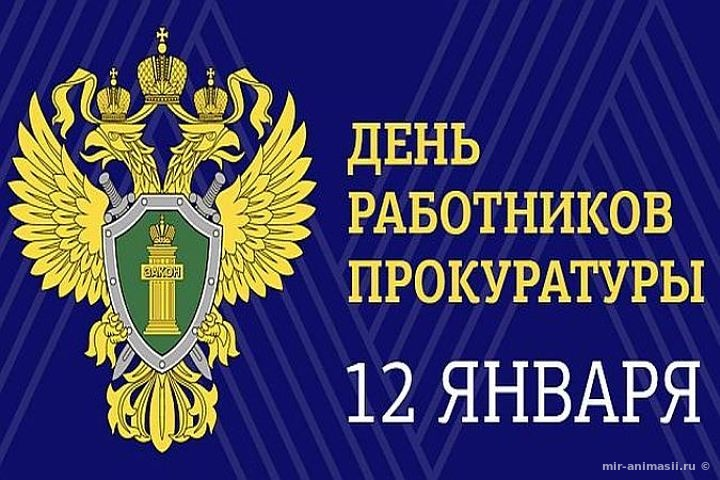 День работника прокуратуры России - 12 января