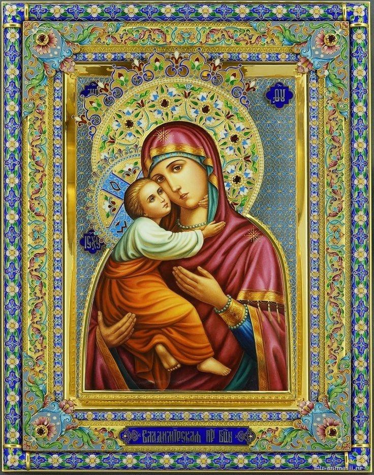 Празднование в честь дня Владимирской иконы Божьей Матери - 3 июня
