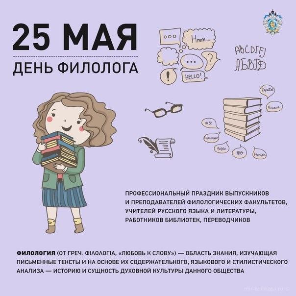 День филолога - 25 мая