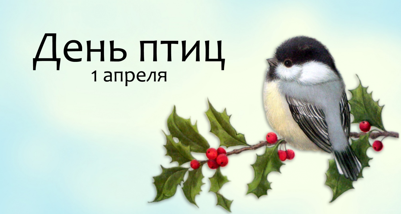 Международный день птиц - 1 апреля