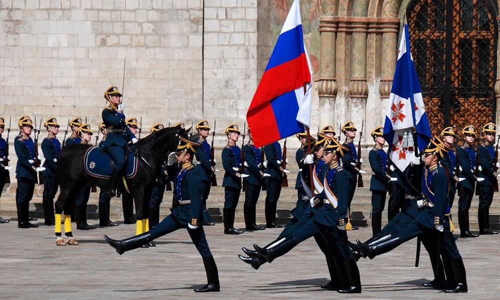 Поздравительная картинка на День президентского полка - 7 мая