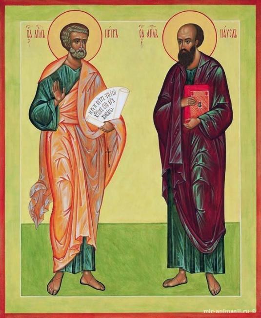 Петр и Павел Рябинники - 23 сентября