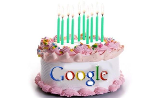 День рождения Google - 27 сентября