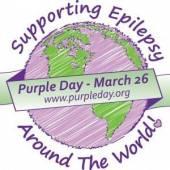 Фиолетовый день - День больных эпилепсией