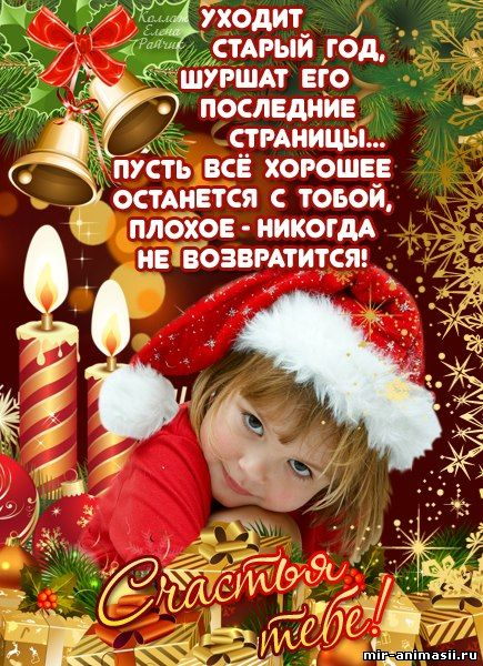 Поздравления с Новым Годом - Новый Год 2019 – год Свиньи открытки для поздравления