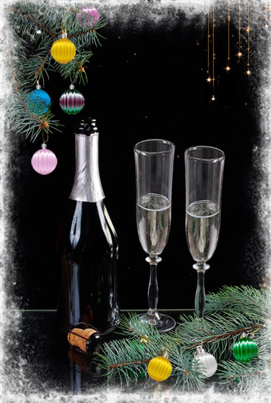 Праздничная открытка коллеге с Новым Годом - С Новым годом 2018 открытки для поздравления