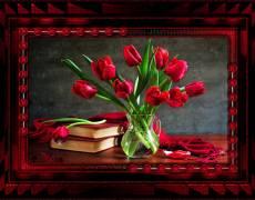 Букет тюльпаны