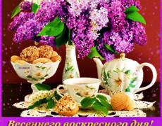 Весеннего воскресного дня
